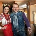 Жена лидера «пятой колонны» Оксана Марченко комфортно себя чувствует на ТВ