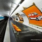 Реклама в метро: эффективность и простота