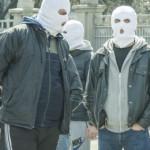 В Киеве проходят странные протесты