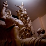 В Детройте открыли огромную статую Сатаны