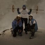 Спортсмен из Мурманска принес на вершину Эльбруса 75-килограммовую штангу
