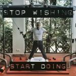 Неизвестный пользователь Instagram мотивирует других заниматься фитнессом с помощью фотографий Путина