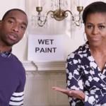 Мишель Обама прочитала рэп