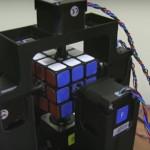 Ученые создали робота, который собирает Кубик Рубика за одну секунду
