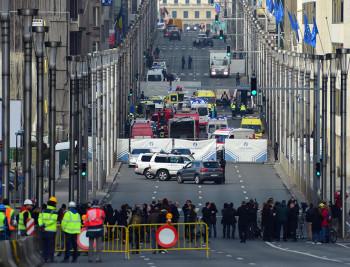 Теракты в Брюсселе: фото и видео