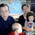 Профессор Келли и его жена рассказали, как дети оказались в кадре во время интервью