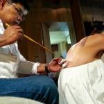 Анджелина Джоли пыталась спасти брак с помощью мистических татуировок
