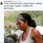 Мишель Обама показала натуральные волосы и вызвала фурор в Сети