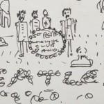 В США с молотка продали рисунки Леннона и Кобейна
