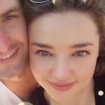 Топ-модель Миранда Керр и создатель Snapchat поженились
