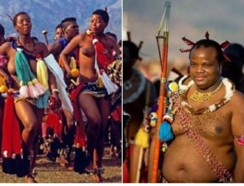 В Свазиленде король на параде девственниц выбирает себе жену. И так каждый год (ФОТО)