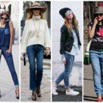 С чем носить трендовые джинсы: самые органичные ансамбли