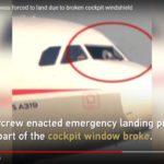 Пилота засосало в дыру, когда у лайнера в полете разбилось лобовое стекло: борт удалось посадить