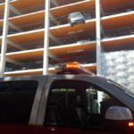 Пожилая калифорнийка перепутала газ с тормозом (фото)