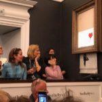 Картина Бэнкси за миллион фунтов самоуничтожилась на аукционе Sotheby's — как только ее продали