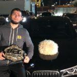 Глава UFC рассказал, отберут ли у Хабиба Нурмагомедова чепионский пояс после своей выходки