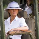 Мелания Трамп приехала в Африку в костюме колонизатора