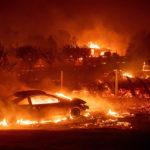 Огненный апокалипсис в Калифорнии: самый разрушительный пожар столетия в фото и видео