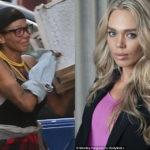 На самом дне: фитнесс-модель и бывшая жена голливудского актера стала бомжом