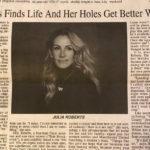 Газета вышла с опечаткой, сообщив, что «дыры Джулии Робертс с годами всё лучше»