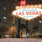 Репортаж из соцсетей: Снегопад в Лас-Вегасе  (фото, видео)