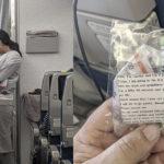 Мама 4-месячного малыша необычным способом успокоила всех пассажиров в самолете