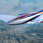 Новый уникальный самолет сможет перелететь Атлантику менее чем за час