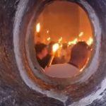Схождение Благодатного огня: правда или вымысел? Эксклюзивное видео, снятое священником внутри Кувуклии