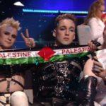 В трансляции «Евровидения» из Израиля дважды появился флаг Палестины