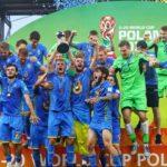 Молодежная сборная Украина стала чемпионом мира