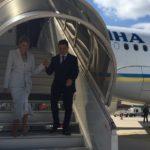 Зеленский с женой приехали с официальным визитом в Париж (фото)
