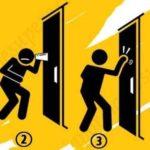 Тест с закрытой дверью. Выберите один из 4 вариантов и узнайте, какой вы человек