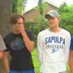 Четверо подростков рисковали жизнью, чтобы спасти из пожара 90-летнюю соседку