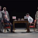 В Украине сняли политический ролик, где Путин и Зеленский играют в шахматы (видео)