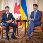 Как Зеленский во время визита в Канаде шутил о своем английском (видео)