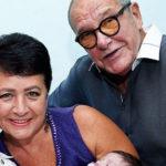 79-летний Эммануил Виторган и его 57-летняя супруга стали родителями