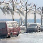 В США приходит сразу два зимних шторма: ожидаются ливни и снегопады