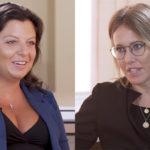 Глава телеканала RT Маргарита Симоньян отказалась отвечать на вопросы Собчак и ушла из студии (видео)