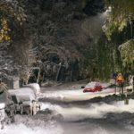 На выходных в США ожидается снегопад и ледяные дожди