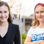 В Финляндии премьер Марин на день уступит свое место 16-летней активистке